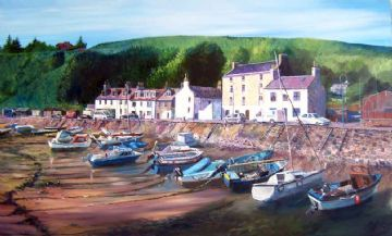 The Small Boat Harbour, Stonehaven